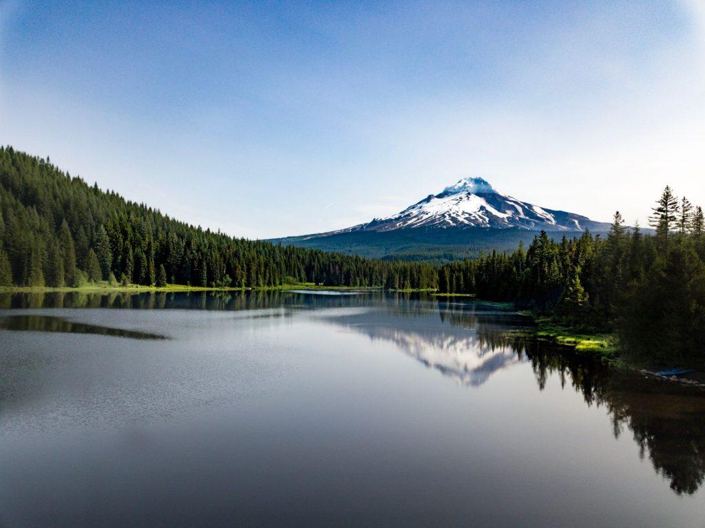 Portland Mount Hood Sunrise