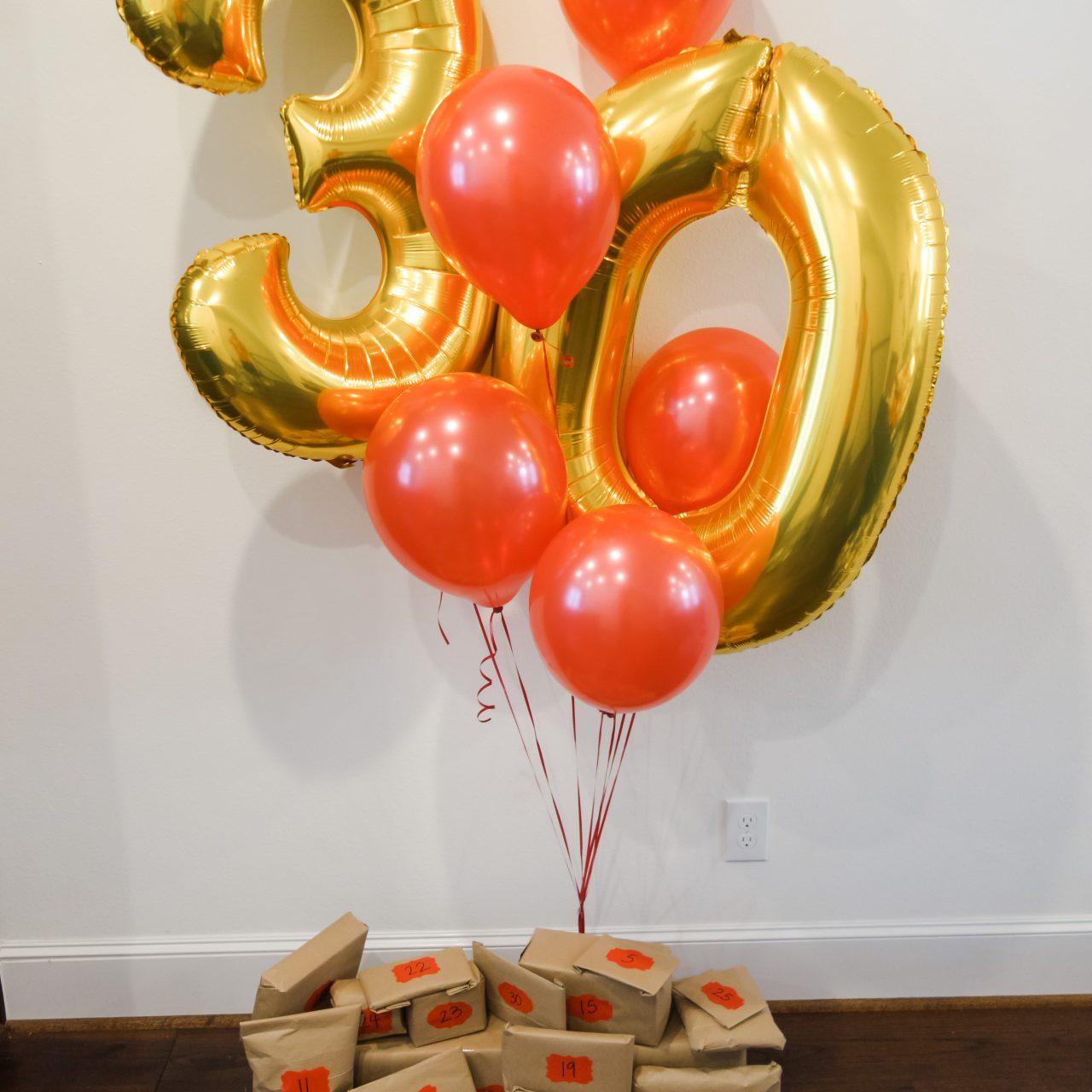 30th Birthday Inspo (For Him)
