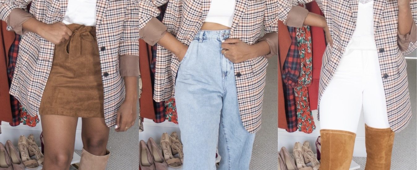 How To Style a Plaid Blazer for Fall