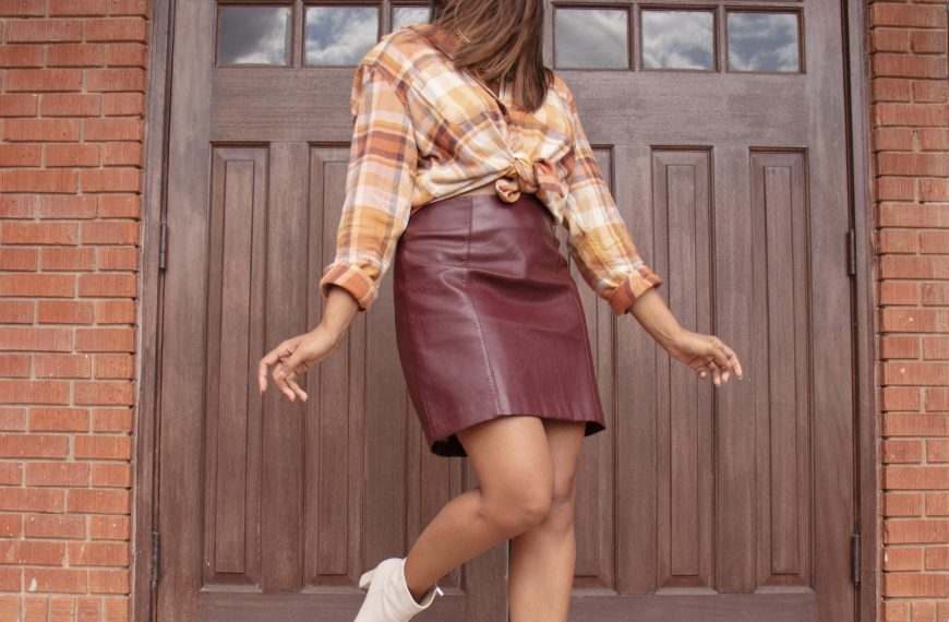 How to Style a Flannel for Thanksgiving
