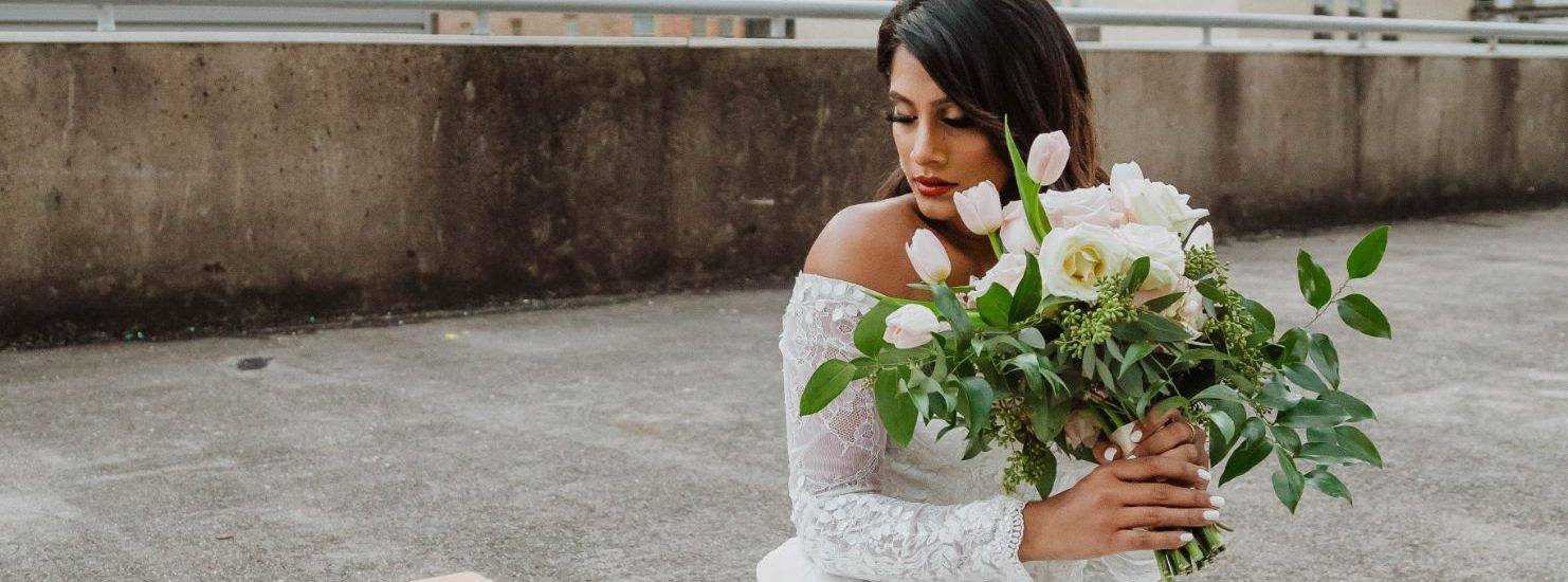 Davids Bridal x Vidhyaxo Spring 2021 Collaboration