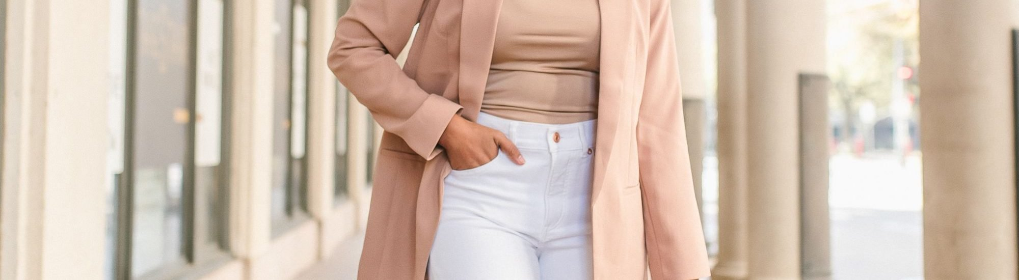 Express White Cropped Jeans