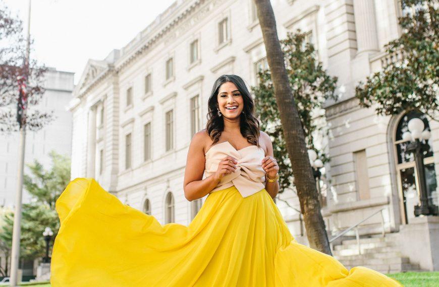 Yellow Summer Maxi Skirt // ChicWish
